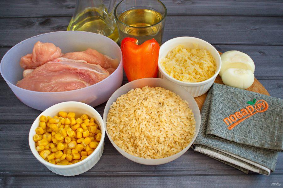 Рецепт куриного ризотто
