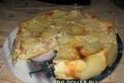 Сытный пирог (перевернутый)