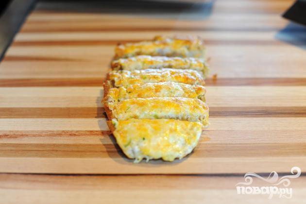 Рецепт Рецепт Чесночно-сырного хлеба