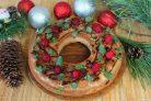 Рождественский кекс с коньяком
