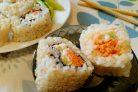 Вегетарианские роллы с корейской морковью