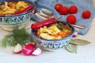 Узбекский суп с клёцками