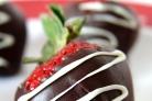 Ягоды клубники в шоколаде