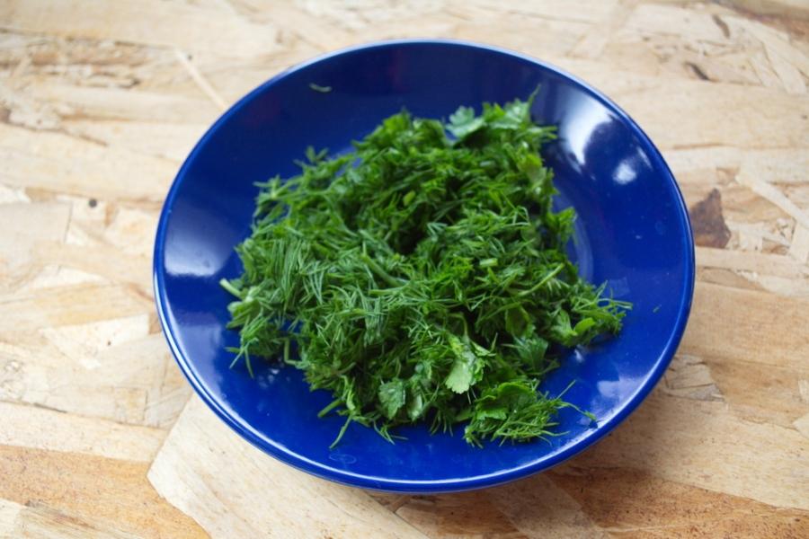 Творог с зеленью для похудения