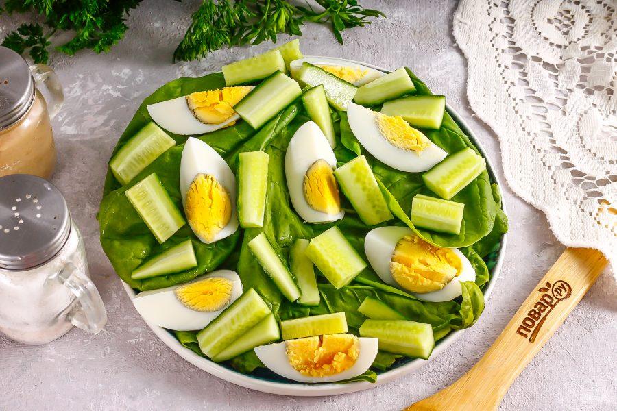 Низкокалорийный салат с тунцом
