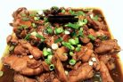 Курица с грибами в соевом соусе