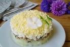 Салат Мимоза без картофеля