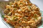 Салат с сухариками и морковью
