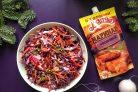 Салат из красной капусты с чесночным маринадом Махеевъ