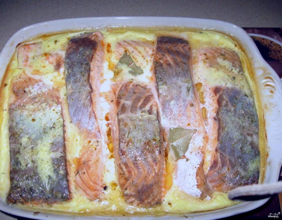 Рецепт приготовления красной рыбы под соусом приготовление курника в домашних условиях простой рецепт