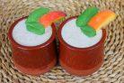 Полезный коктейль из йогурта с персиком и семенами льна