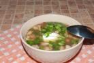 Суп из копченой рульки