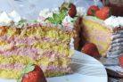 Крем для клубничного торта