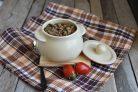 Рис с грибами, овощами и шпинатом
