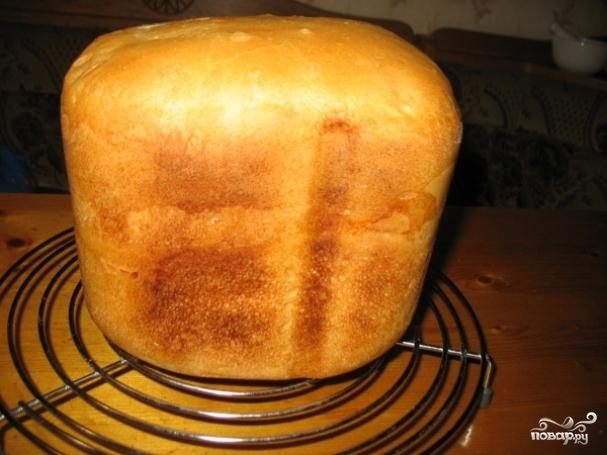 Новогодний хлеб без дрожжей в хлебопечке