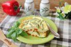 Омлет с овощами в духовке