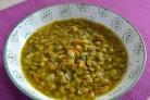 Суп из чечевицы вегетарианский
