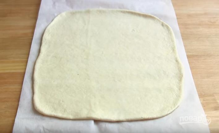 Простой мясной пирог с картошкой