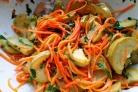Кабачки с морковкой по-корейски