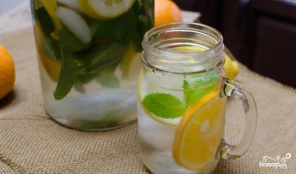 Лимонная вода для похудения - Худеем за месяц!