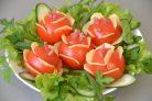 Закуска Букет роз