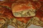 Ленивый пирог с картошкой