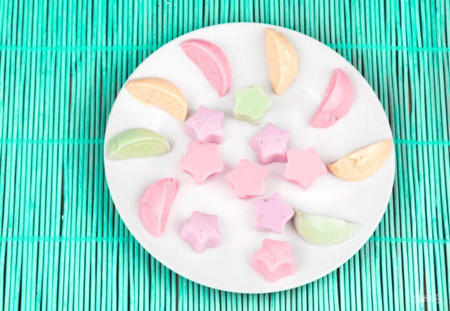 Желейные конфеты из йогурта