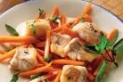 Треска с морковью