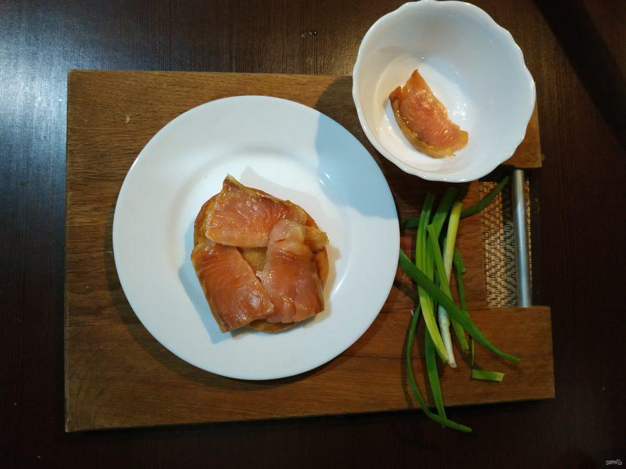 Бенедикт с лососем