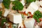 Салат с брынзой и курицей
