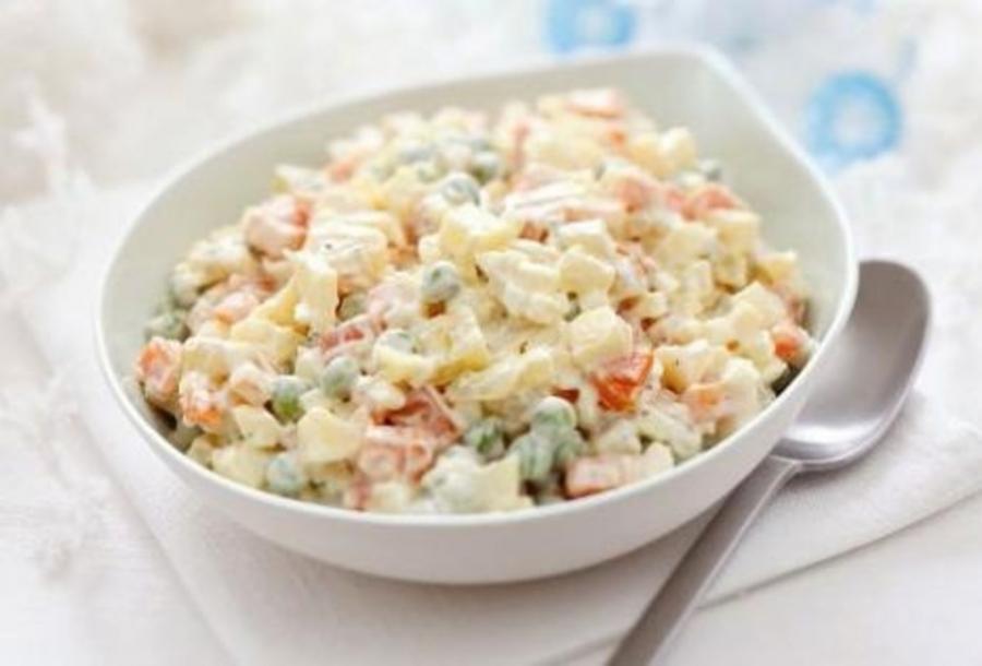 Салат мясной классический - пошаговый рецепт с фото на Повар.ру