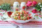 Крабовый салат без яиц