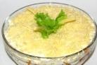 Сырный салат На праздничный стол