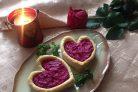 Свекольный салат ко Дню влюбленных
