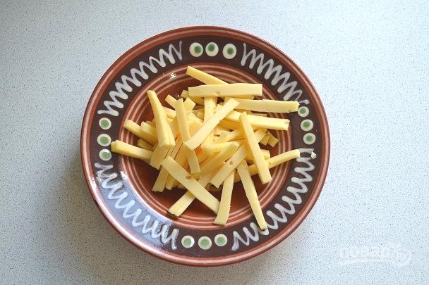 Салат с сердцем и сыром