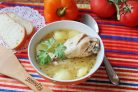 Азербайджанский суп из курицы