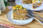 Печеночный торт без майонеза