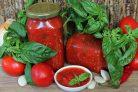 Заправка из помидор и перца на зиму