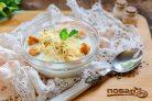 Швейцарский молочный суп с сыром