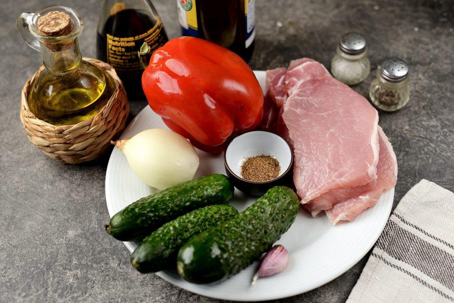 """Салат """"Чим-чим"""" с мясом"""