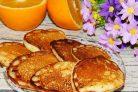 Апельсиновые оладьи