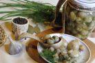 Грибы маринованные (шампиньоны)