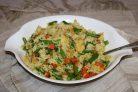Рис с курицей и фасолью