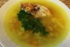 Фасолевый суп с курицей в мультиварке