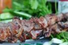 Шашлык из телятины по-уйгурски
