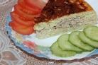 Картофельно-мясная запеканка в мультиварке