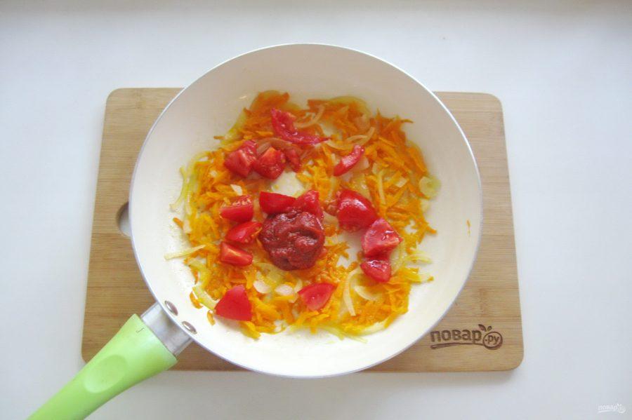 Камбала в томатном соусе