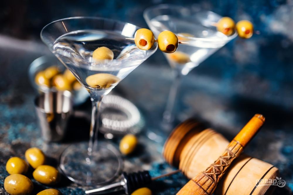Как сделать мартини