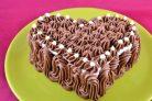 Тортик  Безе в шоколаде