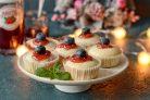 Кексы с клубничным джемом Махеевъ